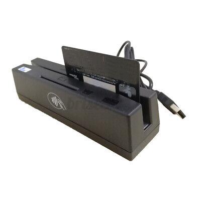 Yl160 4-in-1 Magnetic Stripe Credit Card Emv Ic Chip Rfid Psam Reader Writer