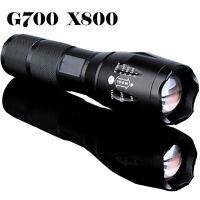 G700 X800 8000lumen A Zoom Regolabile Xml T6 Led 18650 Torcia Focus Lampada Luce -  - ebay.it