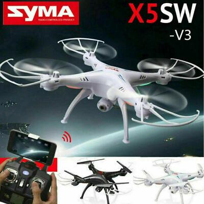 Syma X5SW-V3 Wifi Explorers 2.4G RC Headless Quadcopter Drones+HD Camera FPV BR