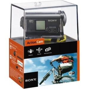 NEW Sony FHD action camera + waterproof housing sealed in box