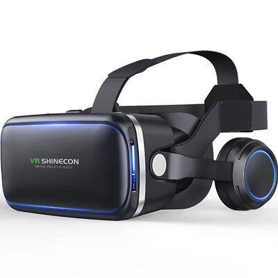 3D IMAX Video VR Glasses Virtual 2.0 Goggles Reality Headset For Smartphone  HF