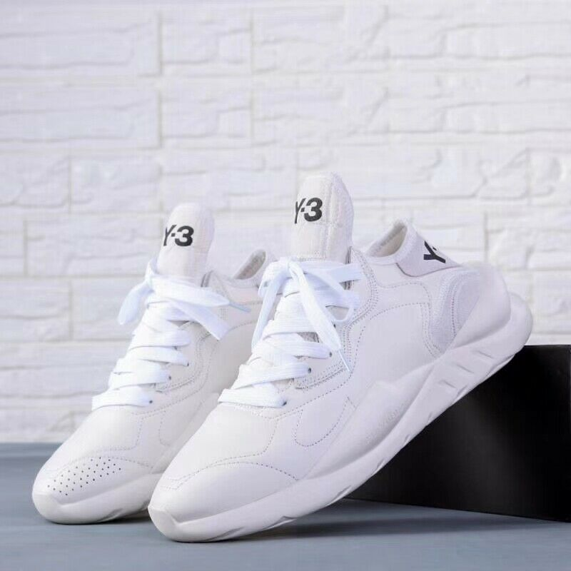 New Y3 Kaiwa Yohji Yamamoto Qasa High Sneakers Men/'s Boost White Trainers Shoes