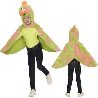 Kanarienvogel Cape Überwurf Kleinkinder Plüsch Vogel Kostüm - 2-4 J. Tierkostüm