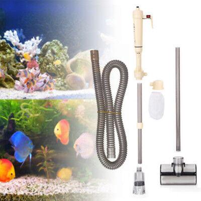 Elektrische Aquarium Reiniger Staubsauger Fish Tank Syphon Wasserwechsel Pumpe gebraucht kaufen  Bremen