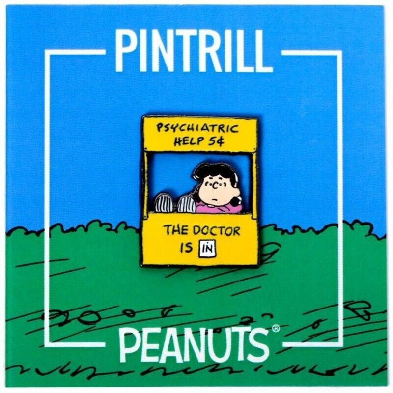 PINTRILL x PEANUTS - Lucy