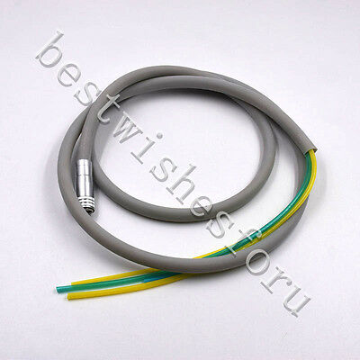 1x Silicone 4-hole Dental Hose Tubes For Air Turbine Motorhandpiece Connection