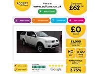 Mitsubishi L200 2.5DI-D C FROM £62 PER WEEK