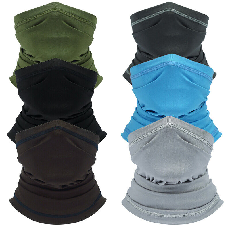 US FAST Neck Gaiter Elastic Moisture Wicking Fishing Riding Half Face Cover Clothing, Shoes & Accessories