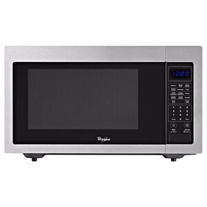 LOOKING FOR STAINLESS MICROWAVE LARGE COUNTERTOP STYLE
