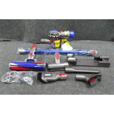 Dyson SV11 V7 Fluffy Hardwood Cord-Free Stick Vacuum - Iron/Blue