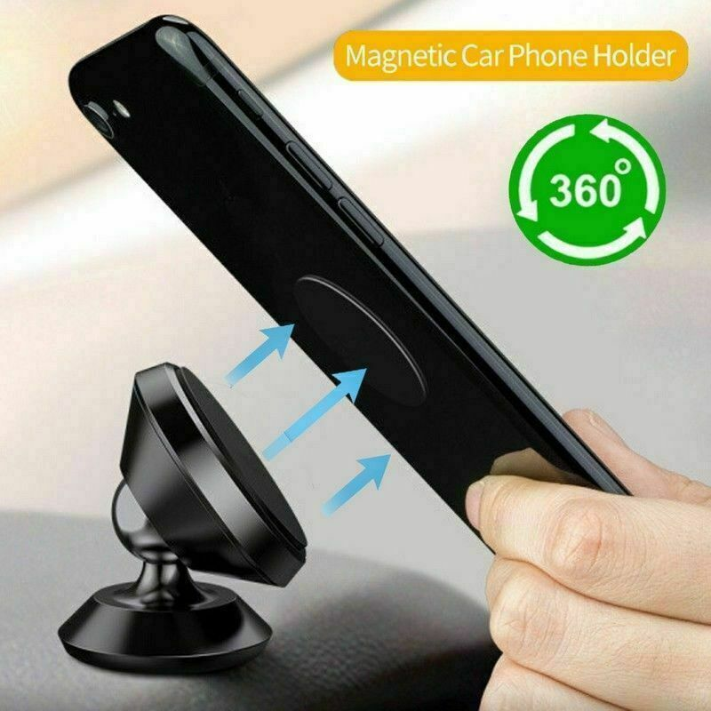 Universal 360° Magnetic Car Mount Cell Phone Holder Stand For iPhone Samsung GPS Cell Phone Accessories