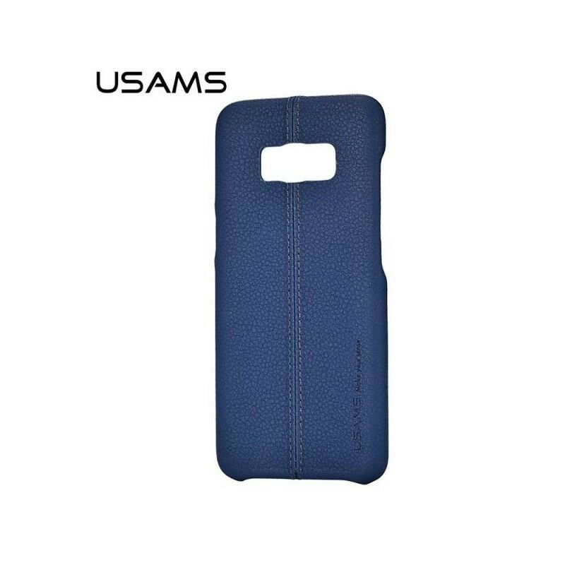 PR1 COVER CUSTODIA PELLE ORIGINALE USAMS PER SAMSUNG GALAXY S8+ PLUS G955 BLUE
