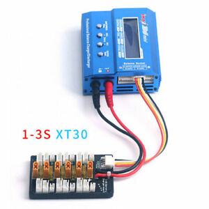 For Lipo IMAX B6 Battery Charger 1S-3S XT30 Parallel Charging Balance Board 30A