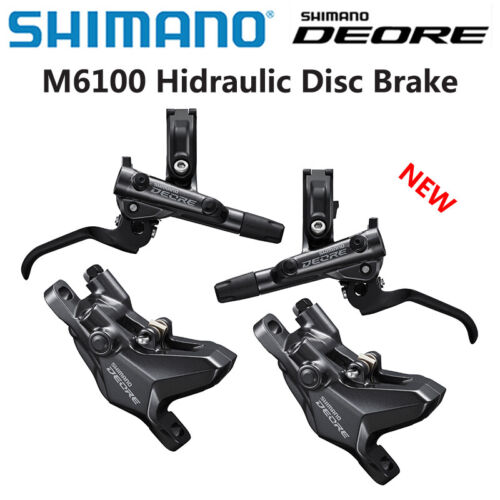 SHIMANO DEORE BR M6100 Disc Brake Set BL-M6100 900/1600 Left & Right OE