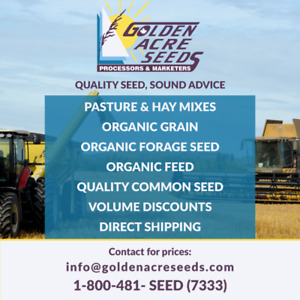 ATTN: Brandon area Ranchers &  Farmers: Seed Mixes For Sale.