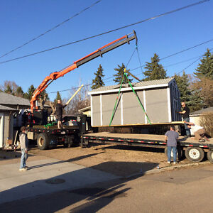 PICKER TRUCK FOR HIRE !! DO YOU NEED YOUR SHED OR HOT TUB MOVED Strathcona County Edmonton Area image 3