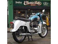 1961 Triumph T110 650 Classic Vintage With 750cc barrels / 68 Bonneville head.