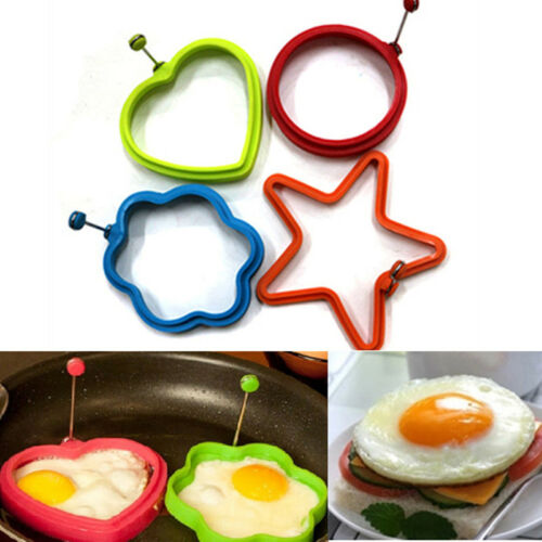 Silicone Omelette Shaper Fried Frying Mold Pancake ...