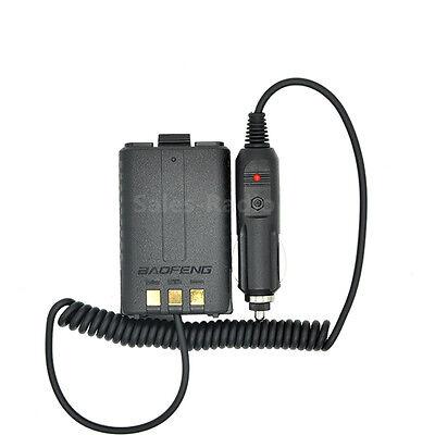uv 5r battery eliminator car charger walkie