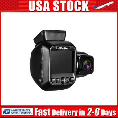 Dual Lens 1080P GPS WiFi Dash Camera Front And Inside Video Recorder Truck Taxi