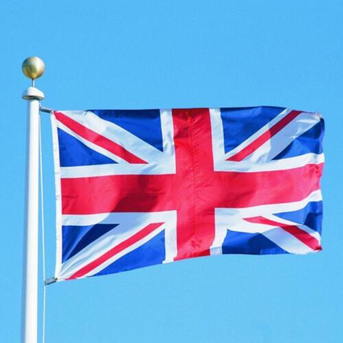 Union Jack Flag Great Britain United Kingdom UK England British Banner 5x3F C7Z4