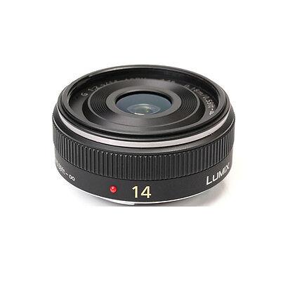 Panasonic Lumix G 14mm f/2.5 AF Aspherical Lens - Black (White Box)