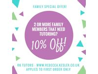 SATs results lower than you hoped? Need a Maths or English tutor?