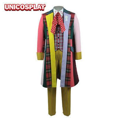 Doctor Who 6th Dr Stripe Uniform Coat Pant Full Set Halloween Cosplay - Costumes Doctor Who