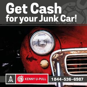 Top Cash for Cars | Cash on the Spot | Towing | Kenny U-Pull