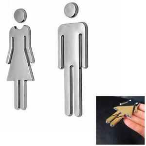mens bathroom sign. door sign men u0026 women set toiletloobathroomrestroomwc adhesive mens bathroom