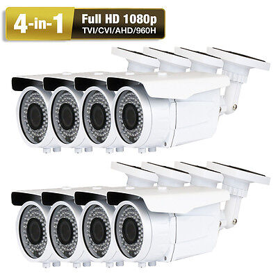 HD 2.6MegaPixel Sony CMOS 4-in-1 1080P 72IR LEDs Security Camera Adapter System