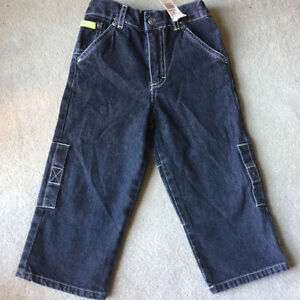 BRAND NEW CARGO JEANS size 3T