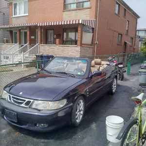 1999 Saab 9-3 viggen Convertible for motorcycle or?