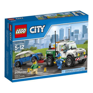 LEGO City Great Vehicles Pickup Tow Truck - 60081