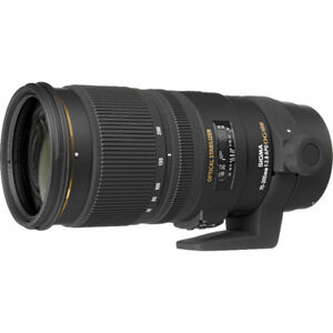 Sigma 70-200mm f/2.8 EX DG APO OS HSM for Nikon