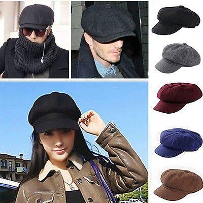 Herren Damen Flatcap Schirmmütze Ballonmütze Caps Schiebermütze Hut Hüte Newsboy