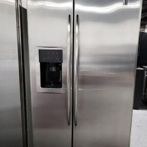 FRIDGE GE MODEL 596.77533601 STAINLESS STEEL WITH WARRANTY!