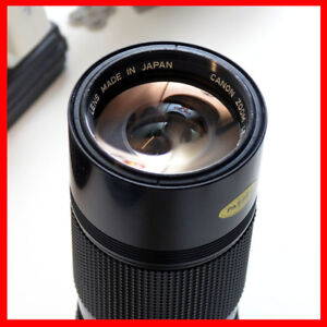 Canon FD 70-150mm F4.5 manual focus zoom Lens