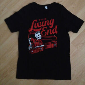 The Living End 'Guitar Case' black t-shirt - Large - pre-owned