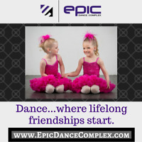 PRESCHOOLER DANCE CLASSES - 3 1/2 to 5 YEARS