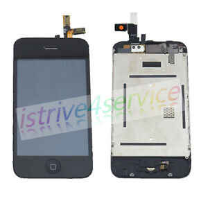 For iPhone 3G Display LCD Screen and Touch Glass Digitizer Assembly Replacement
