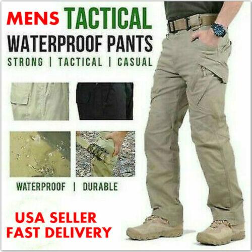 Soldier Tactical Waterproof Pants Mens Cargo Casual Pants Hi