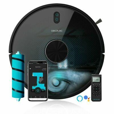 Robot Aspirador Conga 6090 Cecotec 10.000 Pa. tecnología Cy-Clean. Cepillo JALIS