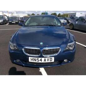 BMW 645CI 4.4 AUTO 2 DOOR COUPE (2004 54 REG) 335 BHP