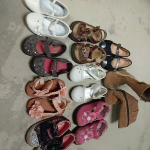 infant girls shoe lot