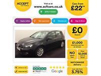 Volkswagen Golf SE FROM £22 PER WEEK!