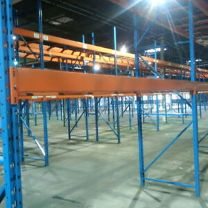 "11' x 5"" redirack step beams for pallet racking - Large stock"