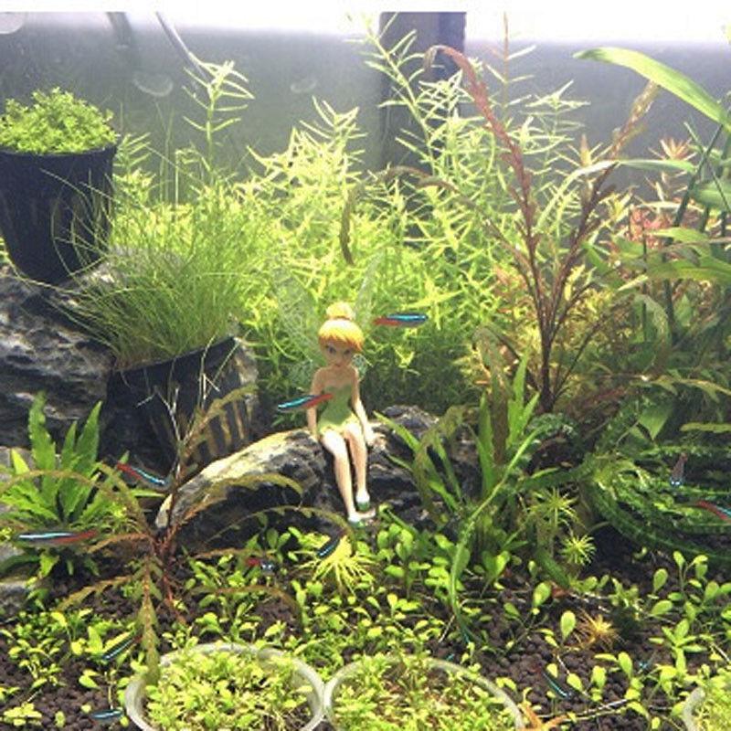 6 Fairy Tales Aquarium Ornaments Fish Tank Decoration Lot Cute