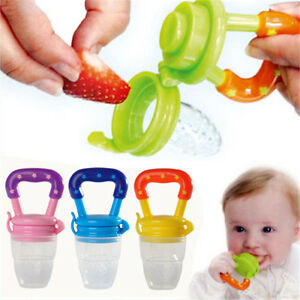 Quality Cute Baby Food Nipple Feeder Feeding Tool Fresh Juice Pacifier REH