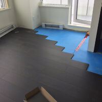 *** LAMINATE FLOORING INSTALLATIONS ***